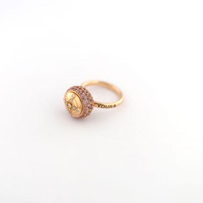 HC Ring Pink Sapphire Rose gold