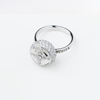 HC Ring Diamond white gold