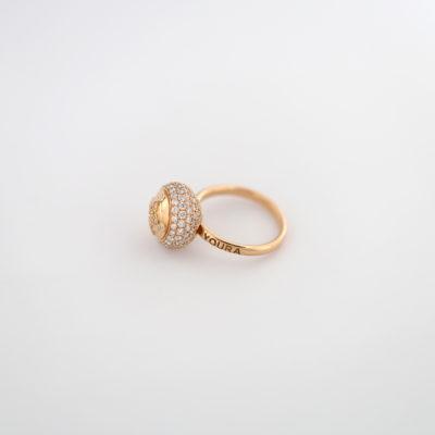 HC Ring Diamond Rose gold